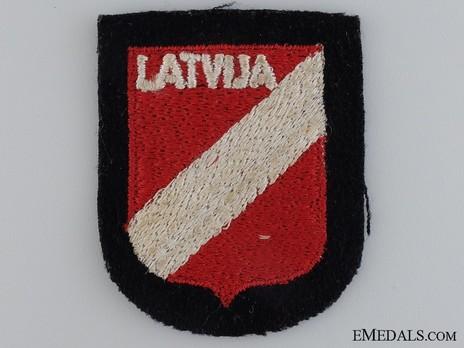 Waffen-SS Latvian Volunteer Arm Shield Obverse