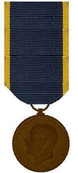 II Class Medal  (1911-1931) Obverse