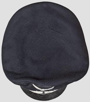 Kriegsmarine Blue Administrative Officials Visor Cap Top