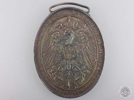Veterans' Medal in Silver Reverse