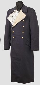 Luftwaffe General Ranks Greatcoat Obverse