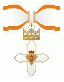 Order of Vytautas the Great, Commander's Cross Obverse