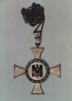 German Red Cross Nurse's Cross, III Class Obverse