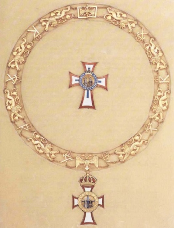 Royal+order+of+st.+george+and+st.+constantine%2c+collar
