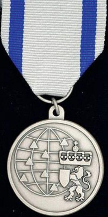 Sivilforsvarets medalje for internasjonal tjeneste1