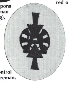 Kriegsmarine Control Foreman Artillery Insignia Type I Obverse