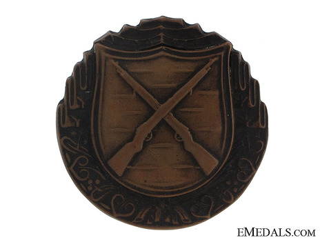 Infantry Marksman Badge, II Class Obverse