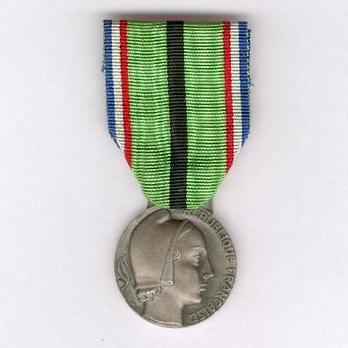 """Silver Medal (stamped """"GEORGES GUIRAUD,"""" 1954-1959) Obverse"""