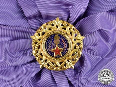 Order of the Grand Star of Yugoslavia, Type II, I Class Badge Obverse