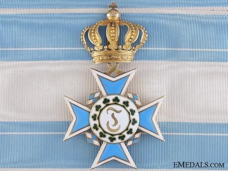 Order of Theresa, Cross (worn on sash) Obverse