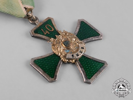 Saxon Military Association Confederation Medal, II Class Obverse