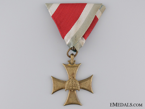 Long Service Decorations for Officers, III Class (for Officers with small crown 1924-) Obverse
