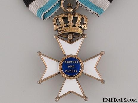 Military Order of Max Joseph, Commander Cross (in silver gilt) Reverse