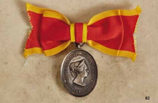 Honour Merit Medal for Women, I Division Medal (in silver)