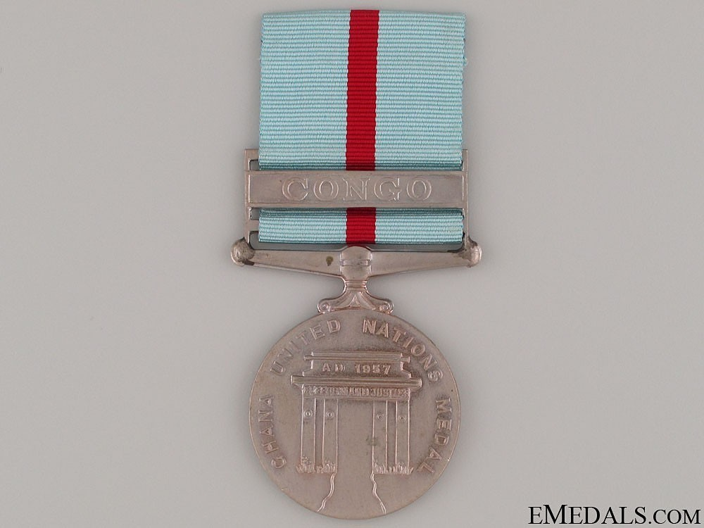 Campaign+medal+for+united+nations+operations+in+congo+1