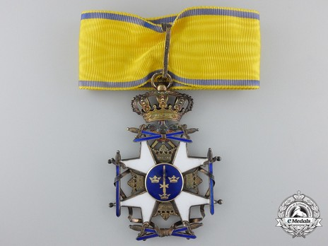 II Class Knight Grand Cross (with silver gilt and gold) Obverse