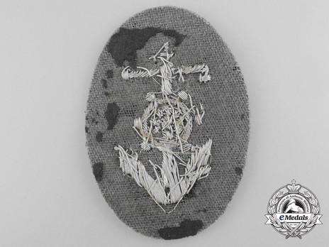German Army Helmsman Trade Insignia Reverse