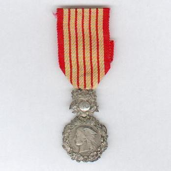 """Silver Medal (stamped """"PONSCARME"""") Obverse"""