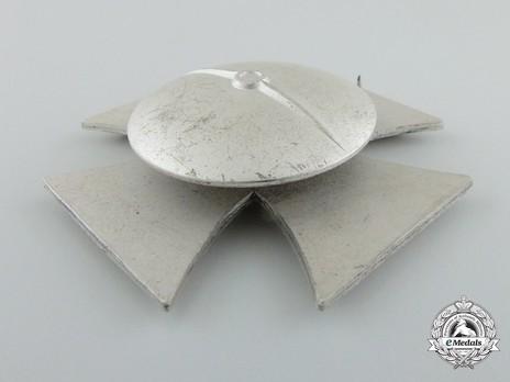 Iron Cross I Class, by C. F. Zimmermann (L/52, screwback) Reverse
