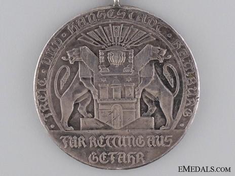 Life Saving Medal (1908) Obverse