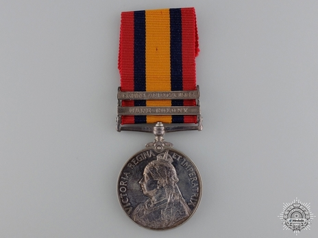 "Silver Medal (minted without date, with ""SOUTH AFRICA 1902"" and ""CAPE COLONY"" clasps) Obverse"
