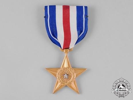 Silver Star (Engraved) Obverse