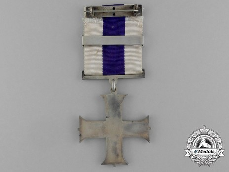 Silver Cross (with 1 clasp, 1914-1937) Reverse