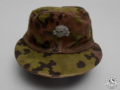 Waffen-SS Camouflaged Field Cap (2nd pattern) Obverse