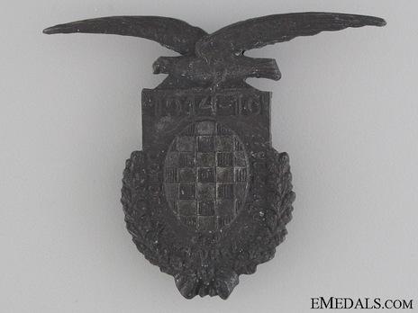 Zinc Badge Obverse