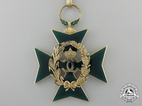 Order of Agricultural Merit, Type I, Commander's Cross Obverse