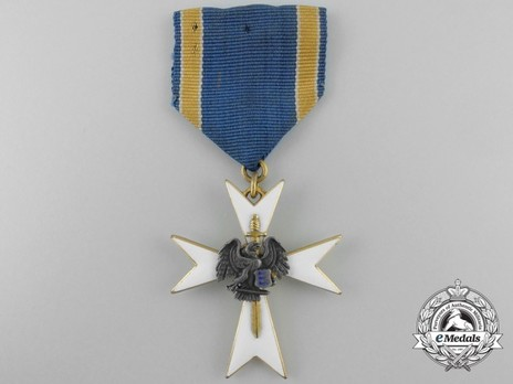 White Cross of the Estonian Defence League, III Class Obverse
