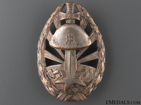 Badge of Honour for Service on the Eastern Front Obverse
