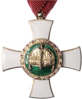Order of the Holy Crown, Knight, Civil Division Obverse