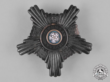 Order of the White Rose,Type II, Civil Division, I Class Commander Breast Star