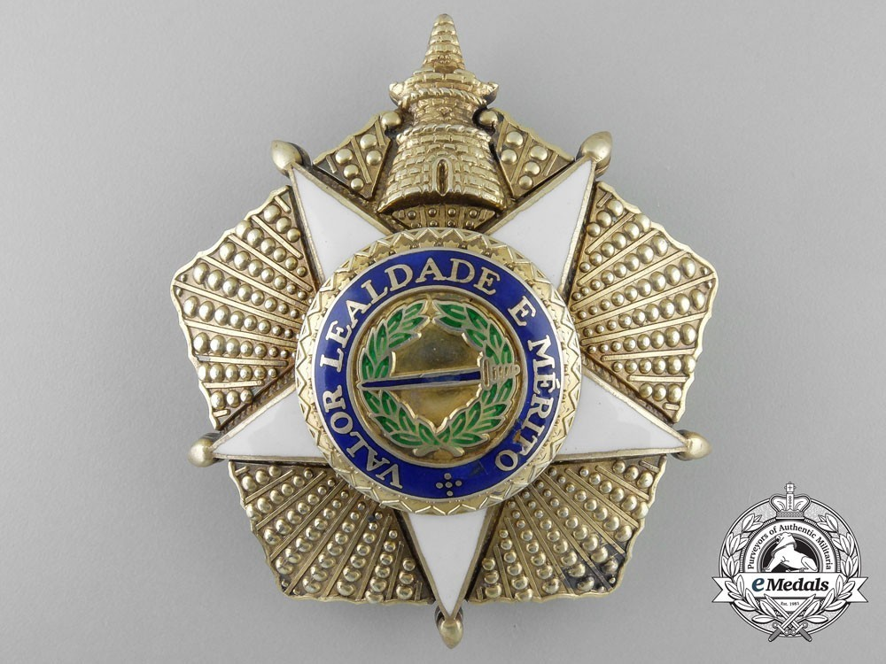Grand cross breast star silver gilt 19