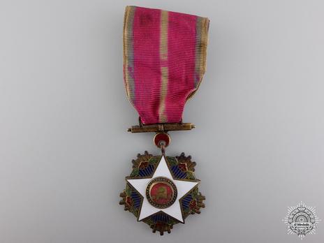 Order of Civil Merit, Type I, III Class (Dongbaeg Medal) Obverse
