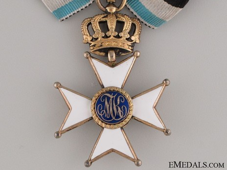 Military Order of Max Joseph, Commander Cross (in silver gilt) Obverse