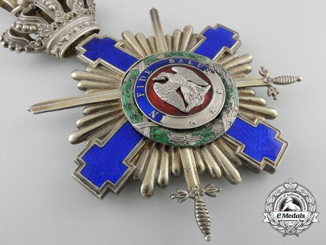 The Order of the Star of Romania, Type I, Military Division, Grand Cross Obverse