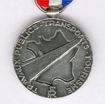 """Silver Medal (stamped """"GEORGES GUIRAUD"""") Obverse"""