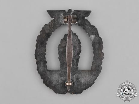 Minesweeper War Badge, by C. E. Juncker Reverse