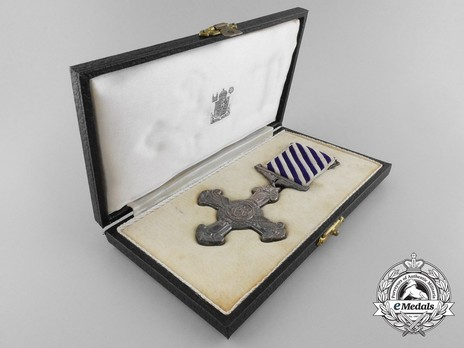Silver Cross (1937-1948) (by Royal Mint) in Case of Issue