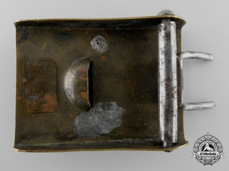 HJ Non-Officer Belt Buckle Type I (Brass version) Reverse
