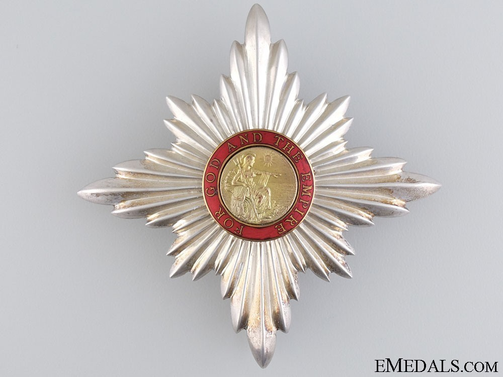 Knight+dame+commander+breast+star+obverse