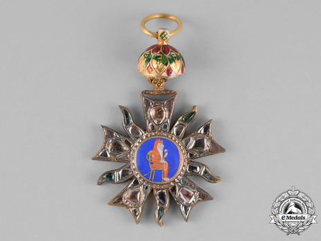 Order of the Propitious Star of Punjab, II Class Badge