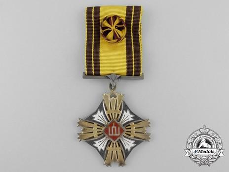 Order of Gediminas, Type II, IV Class Cross Obverse