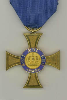 IV Class Cross (in gold) Obverse