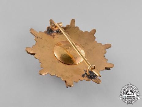 Order of the Somali Star, Grand Cross Breast Star Reverse