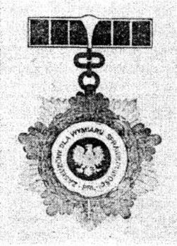 Meritorious to Justice of the Polish People's Republic Obverse