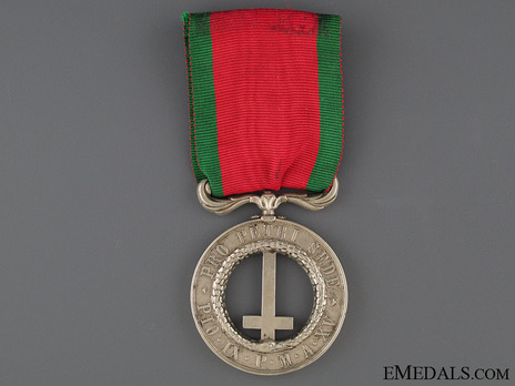 Castelfidardo Medal, for Officers Obverse