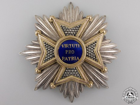 Military Order of Max Joseph, Grand Cross Breast Star Obverse